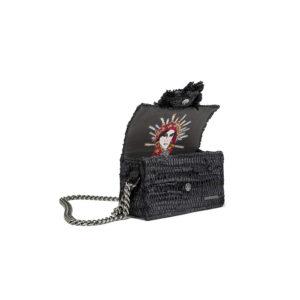 Kooreloo Hollywood Babe Starry Night Black Shoulder Bag
