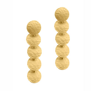 Maggosh Flip a coin earrings short
