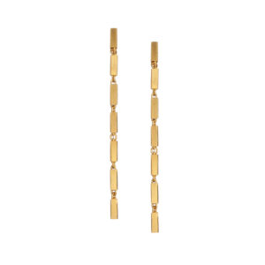 Maggoosh Disco short earrings yellow gold