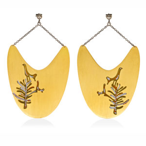 MYSTiS by Sofia Zarari Earrings Bird Tree