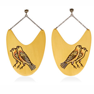 MYSTiS by Sofia Zarari Earrings Birds