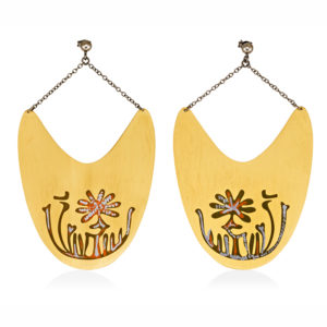 MYSTiS by Sofia Zarari Earrings Boat