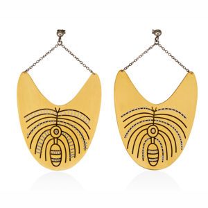 MYSTiS by Sofia Zarari Earrings Palm