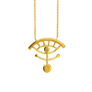 MYSTiS by Sofia Zarari The All Seeing Eye Pendant