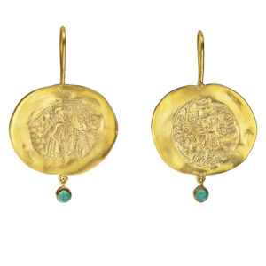Danai Giannelli Constantinato earrings tirqoise