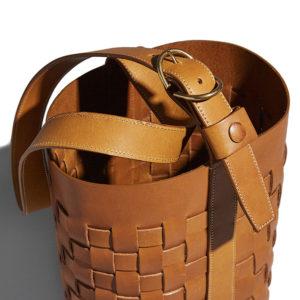Trademark Woven Bucket Tan