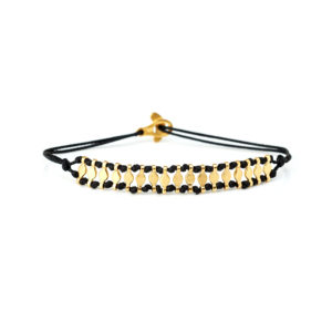 Christiana Kafa Sterling Silver Yellow Gold Plated Bracelet