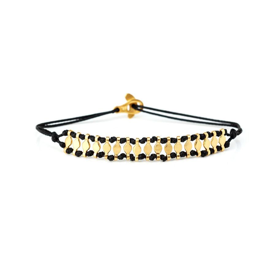 Christiana Kafa Sterling Silver Yellow Gold Plated Bracelet