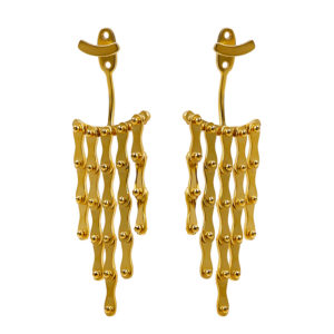 Christiana Kafa Gold plated Sterling Silver Earrings