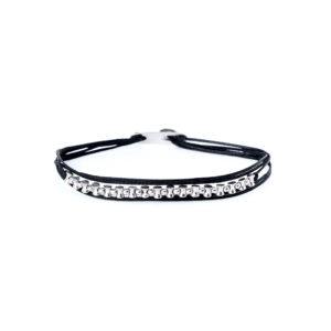 Christiana Kafa White Plated Sterling Silver Bracelet