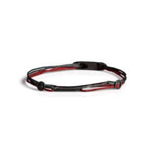 Christiana Kafa Sterling Silver Double Color Cord Bracelet