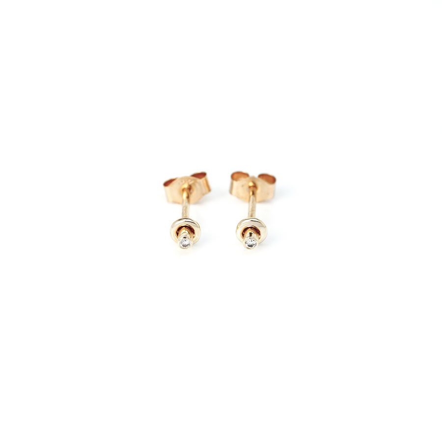 Christiana Kafa Door Knob Earrings