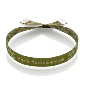 Imisi A Safe Life Is Dangerous bracelet