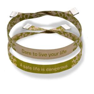 Imisi Dare To Live A Safe Life Bracelets
