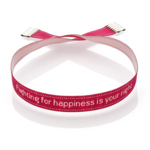 Imisi Fighting for Happiness Is Your Right bracelet