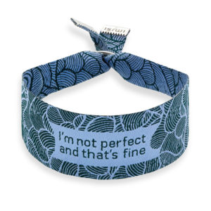 Imisi I Am Not Perfect and Thats Fine bracelet