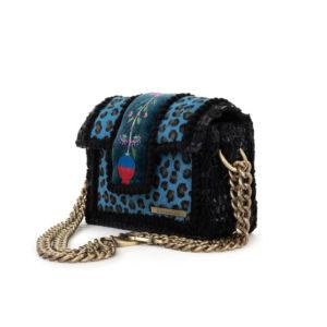 Kooreloo Petit Sahara Amazonite Leather Shoulder Bag