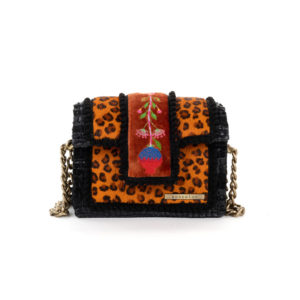 Kooreloo Petit Sahara Carnelian Leather Shoulder Bag