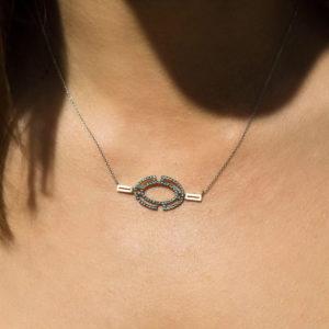Polina Ellis Byzantium Gold Necklace