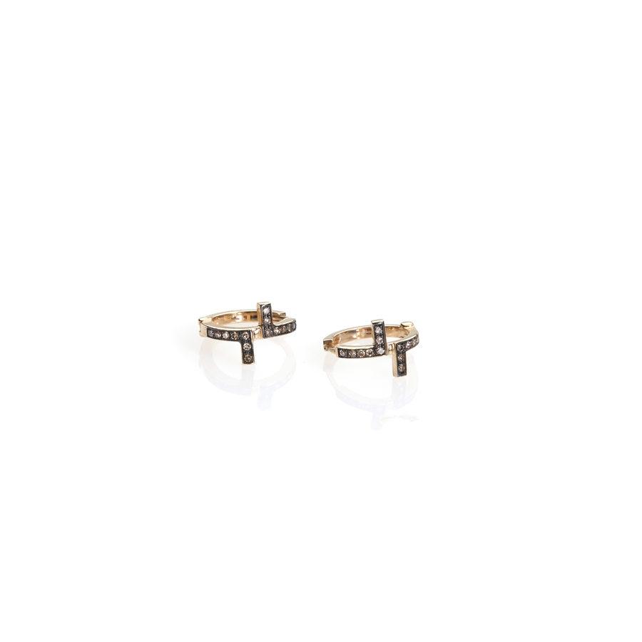Polina Ellis Antithesis Gold Earrings PSantithesisS8G14D