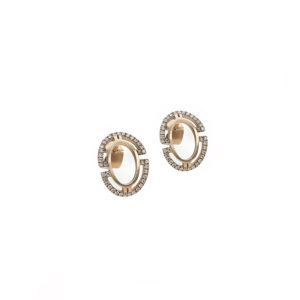 Polina Ellis Byzantium Gold Earrings