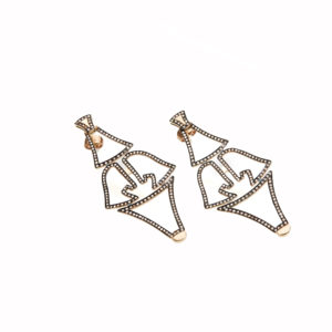 Polina Ellis Tethrippon Gold Earrings