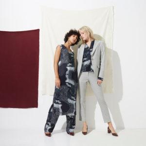 Rhumaa Tsoka Blazer and Trousers on model