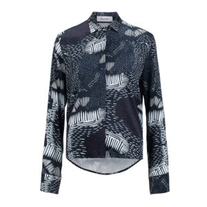 Rhumaa Truth Evening Printed Top