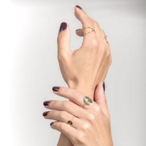 Christiana Kafa multiple rings on model