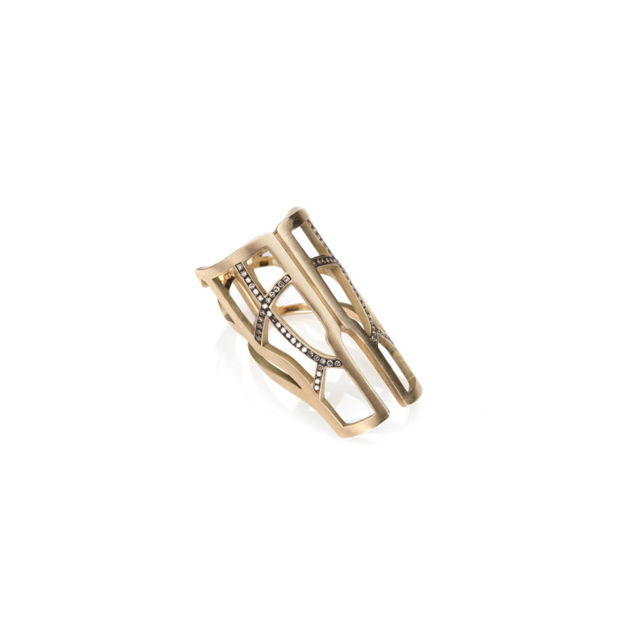 Polina Ellis Tethprippon Gold Ring