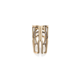 Polina Ellis Tethrippon Gold Ring
