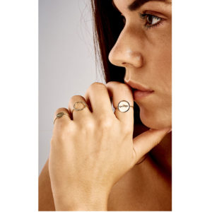 Christiana Kafa massif rings and circle ring on model
