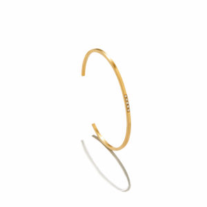 Eikosi Dyo Elle Bangle Bracelet