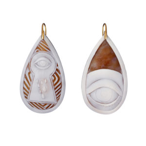 Missbach by Nadia Ti Tengo D' Occhio Earrings
