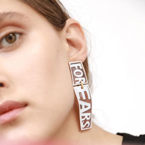 Missbach by Nadia For Ears Single Earring on model