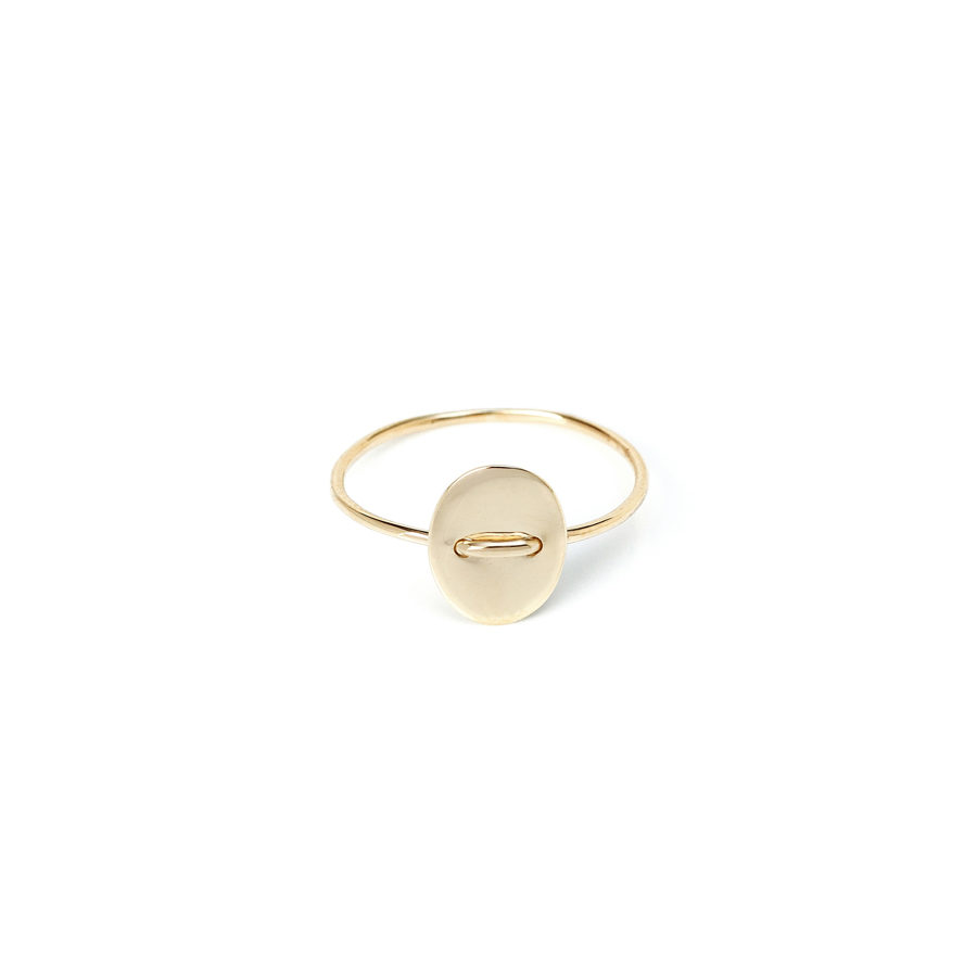 Christiana Kafa Small Oval Ring