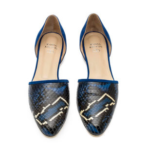 Rania Kroupi Urania D Orsay Flat Shoes