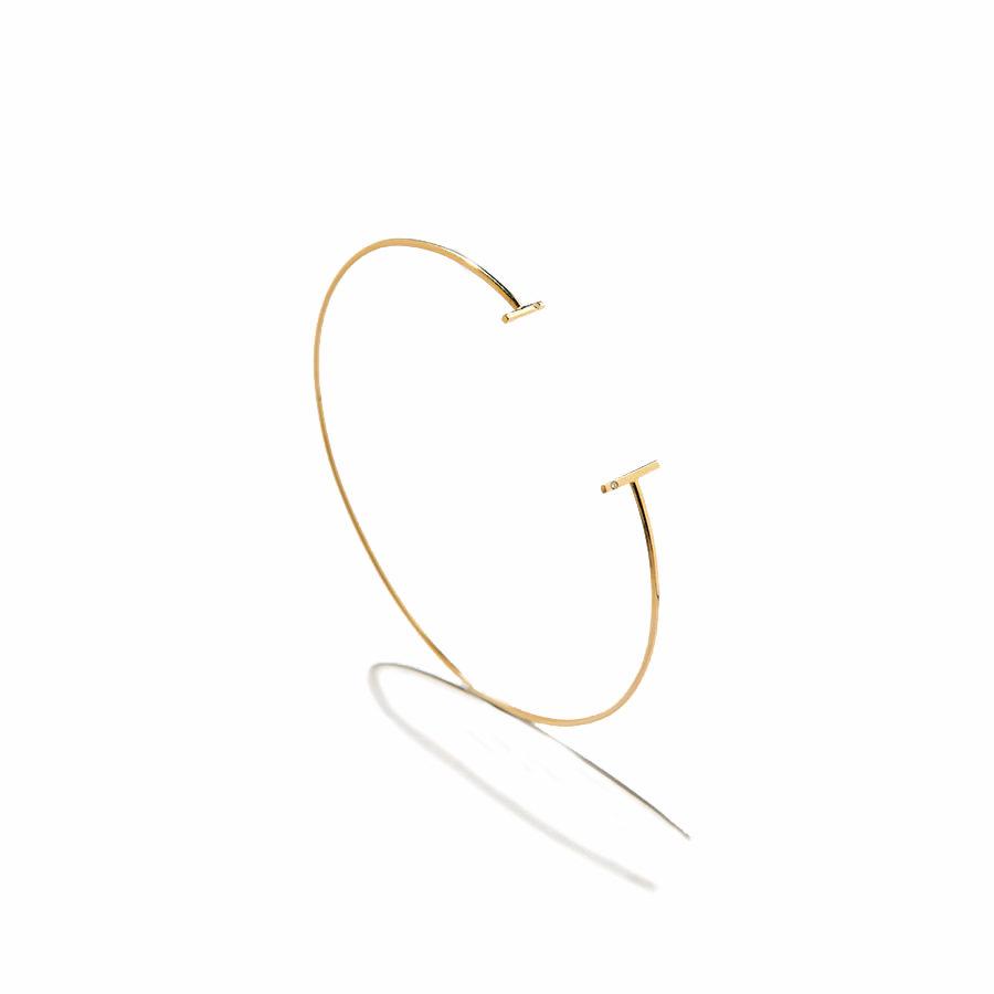 Eikosi Dyo Twigs Bangle Bracelet