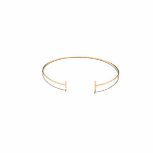 Eikosi Dyo Twigs Bangle Bracelet