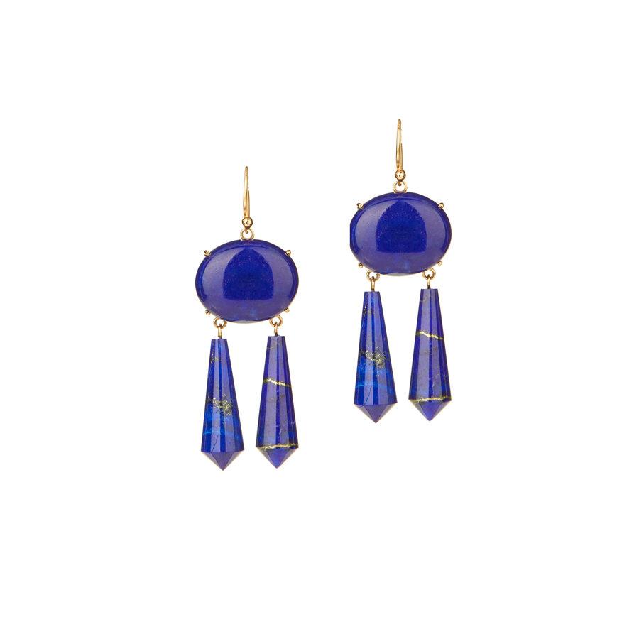 Christina Alexiou Lapis Earrings