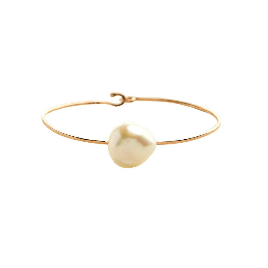 Christina Alexiou Small Single Pearl Bracelet