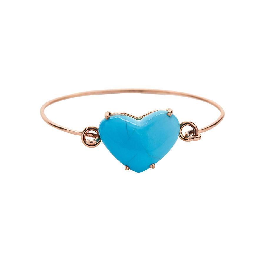 Christina Alexiou Turqoise Heart Bracelet