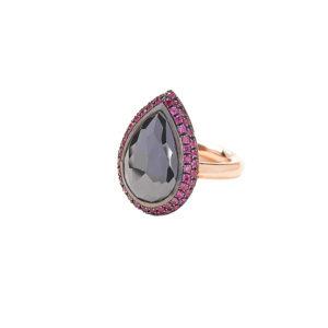 Christina Alexiou Moissonite Ring
