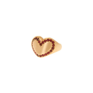 Christina Alexiou Heart Ring