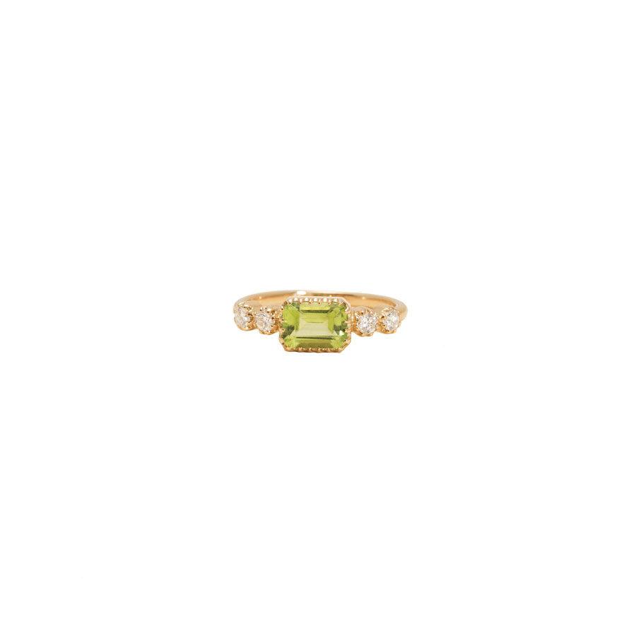 Maison Artaner Antoinette Peridot Ring