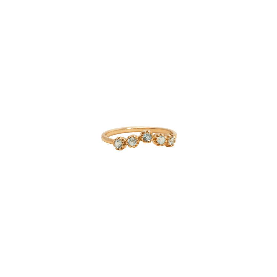 Maison Artaner Magic Topkapi Aigue Marine Ring