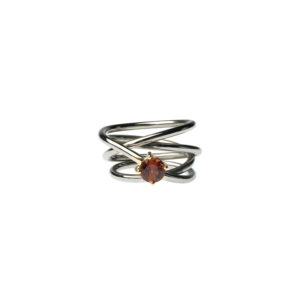 Dolly Boucoyannis Whirling Wires Semi-Precious Stone Ring DBR61