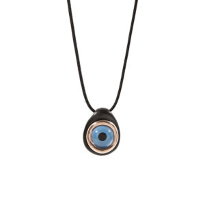 Huffy Big Blue Eye Pendant