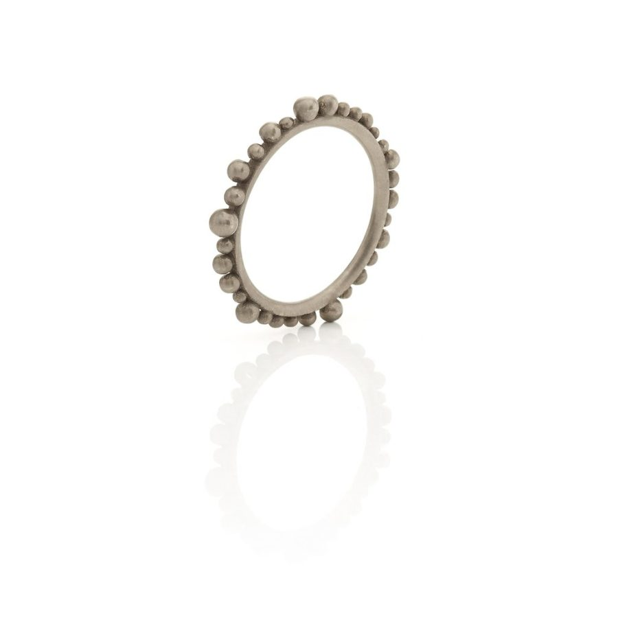 Huffy Cybele Ring Grey Plated