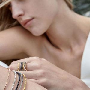 Huffy Klio Bracelets on model